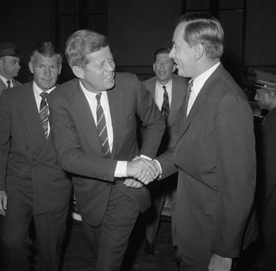 Gore Vidal & John Kennedy