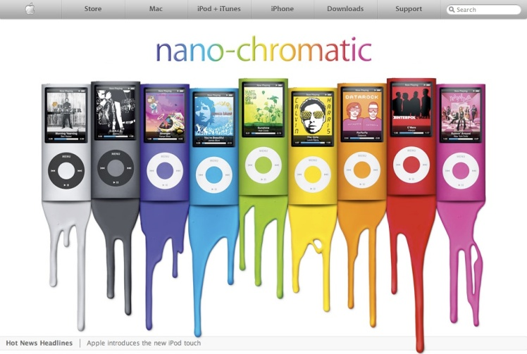 New Apple Nano