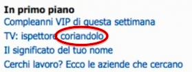 Commissario Coriandolo