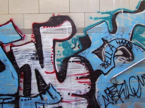 Graffiti a Roma, Largo Maccagno