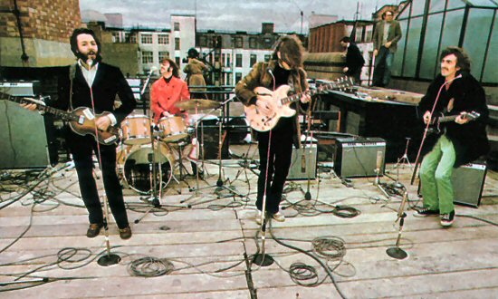 The-Beatles-On-Apple Rooftop