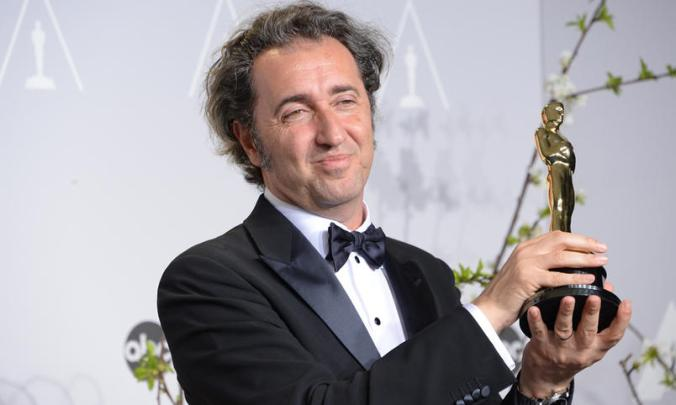 Paolo Sorrentino  Credits: Joe Klamar/AFP/Getty Images