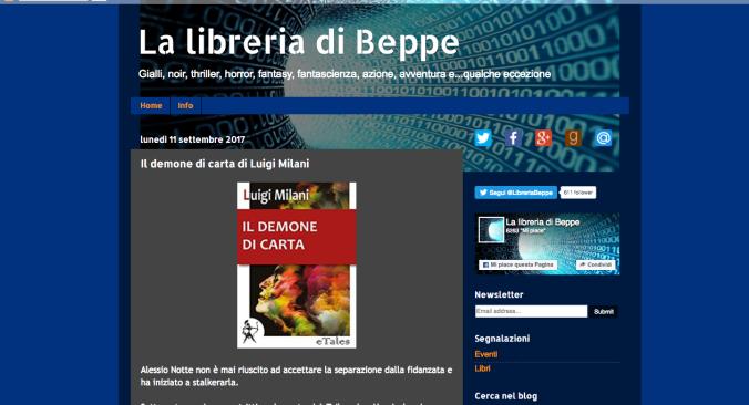 La libreria di Beppe