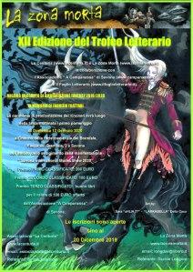 XII Edizione del Trofeo Letterario Fantasy La Centuria, La Zona Morta e Associazione A' Campanassa di Savona 2019- 2020