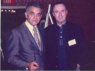Jack Kirby e Joe Sinnott nel 1975